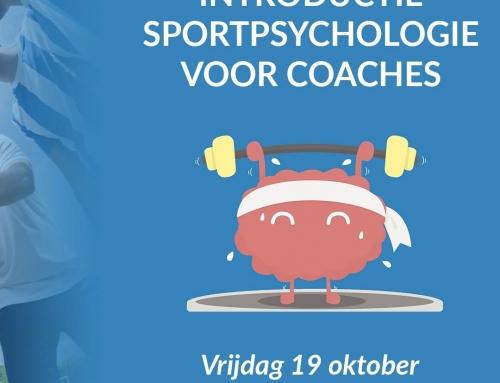 19 oktober: Introductie sportpsychologie voor coaches
