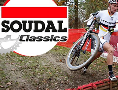 Nieuwelingen in GP cyclocross Hasselt