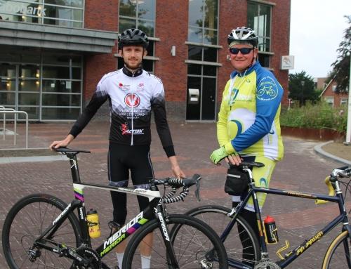 20 april 2019 Overlevertocht: fietsen voor leveronderzoek UMCG